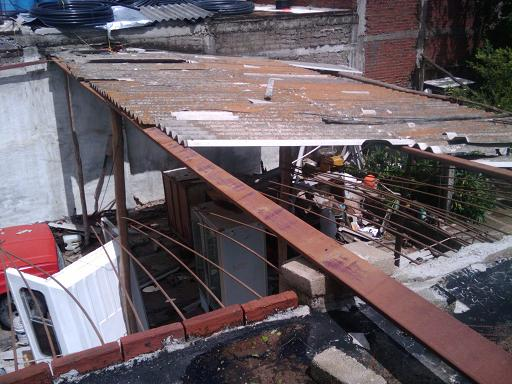 Jova Damaged Roof